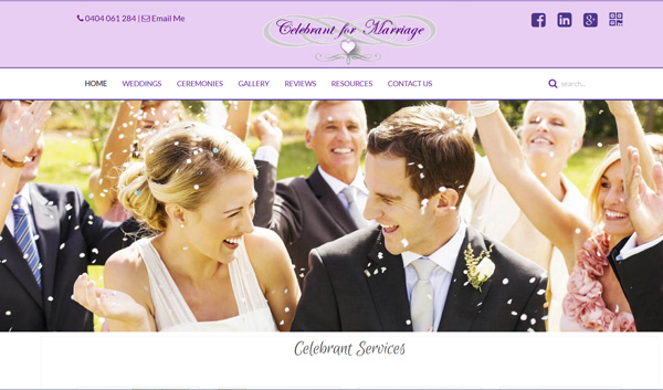 Celebrant for Marriage