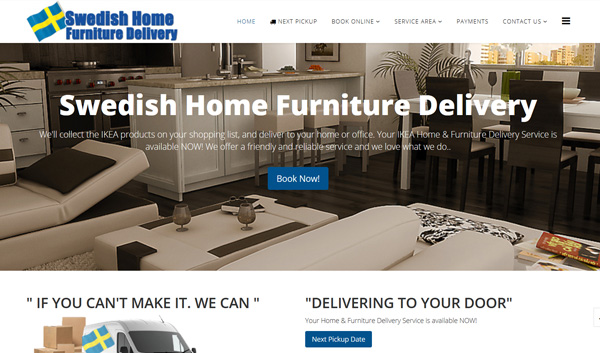 Swedish Home Furniture Delivery